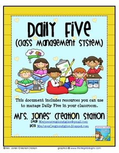 classroom decor, free daili, friv game, class management, classroom manag, pocket charts, daily five charts, class reading, manag system