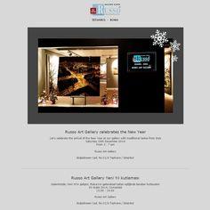 Let's celebrate the arrival of the New Year at Russo Art Gallery İstanbul with traditional tastes from Italy … Saturday, 20th December 2014 3-7pm  Yeni Yılın gelişini İtalya'nın geleneksel tatları eşliğinde Russo Art Gallery İstanbul 'da beraber kutlayalım … 20 Aralık 2014 Cumartesi 15.00-17.00  Boğazkesen Cad. No:21/A Tophane / Beyoğlu