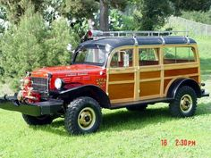 Power Wagon Woody