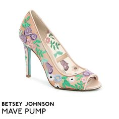 dd2d601f68 Betsey Johnson Shoes | Betsey Light Teal Heels | Color: Blue/Cream | Size