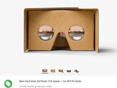 Google hat seine Virtual-Reality-Pappbrille Cardboard nun auch für den deutschen Markt bereitgestellt  http://www.itespresso.de/2016/05/12/google-cardboard-ist-ab-sofort-auch-hierzulande-verfuegbar/?utm_source=2016-05-17&utm_medium=email&utm_campaign=de_itespresso&referrer=nl_de_itespresso&t=c4b70d8b0d42f87442de0658441775c21895806
