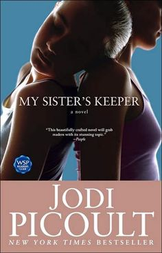My Sister's Keeper - Jodi Picoult : If you read the book, watched the movie, and walked out of it utterly annoyed: we are friends. If you haven't read the book and watched the movie: read the book. If you haven't done either: read the book. I Love Books, Great Books, Books To Read, My Books, Music Books, Love Reading, Reading Lists, Book Lists, Reading Books