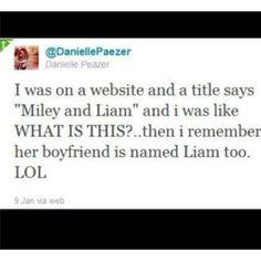 hahaha Danielle