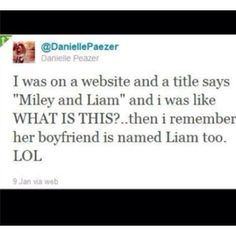 hahaha oh Danielle honestly i have done that too, you know, being a directioner and all.