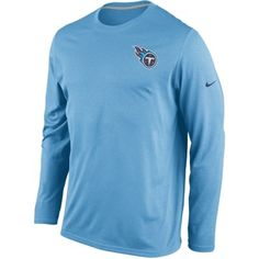 Tennessee Titans Nike Performance Legend Long Sleeve Practice T-Shirt - Blue ($38)