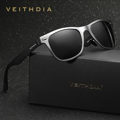 4520a8b858004 VEITHDIA Brand Unisex Aluminum Square Men s Polarized Mirror Sun Glasses  Female Eyewears Accessories Sunglasses For Men
