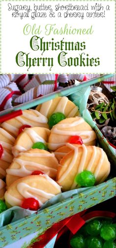Old Fashioned Christmas Cherry Cookies - Lord Byron's Kitchen - Old Fashioned Christmas Cherry Cookies – Lord Byron's Kitchen - Cherry Cookies, Xmas Cookies, Iced Cookies, Funfetti Cookies, Anise Cookies, Linzer Cookies, Orange Cookies, Baking Cookies, Lord Byron