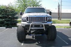 Lifted real nice Ford truck