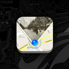Scoutzie.com: Oud Rotterdam App Icon, iPhone app design