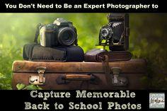 Capturing Memorable Back to School Photos