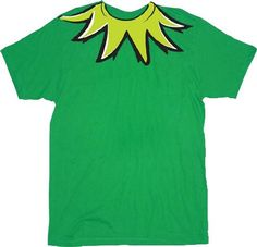 Amazon.com: The Muppets Kermit the Frog Costume Green Adult T-shirt Tee: Clothing
