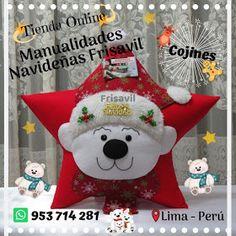 Christmas Deco, Christmas Ornaments, Bob Styles, Ideas Para, Teddy Bear, Pillows, Toys, Holiday Decor, Animals