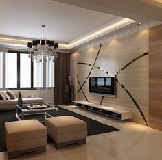 Decoration to tv wall House Ceiling Design, Ceiling Design Living Room, Home Room Design, Home Interior Design, Tv Wall Design, Home Living Room, Living Room Decor, Modern Tv Wall Units, Living Room Tv Unit Designs
