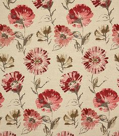 http://www.justfabrics.co.uk/curtain-fabric-upholstery/red-portmeirion-fabric/
