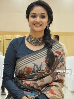 Gorgeous Keerthy Suresh In Silk Saree Saree Models, Tamil Actress Photos, Saree Look, Indian Designer Outfits, Indian Beauty Saree, Indian Sarees, Silk Sarees, Most Beautiful Indian Actress, Saree Blouse Designs