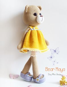 Amigurumi,Amigurumi animal,amigurumi aşkına,amigurumi oyuncak,örgü oyuncak,amigurumi bear,crochet toys,crochet bear, tiny mini dsign patterns, amigurumi patterns