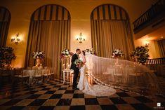 Nadia y Héctor se casaron en la Catedral San Juan Bautista y celebraron en el Hotel El Covento, Viejo San Juan Puerto Rico