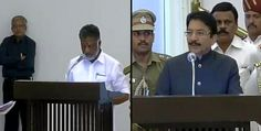 Chennai Ungal Kaiyil: O.Pannerselvam has been sworn in as CM of TN by Governor C. Vidyasagar Rao along with 31 ministers at Raj Bhavan by yesterday early morning. #Chennaiungalkaiyil.  Chennai live updates, Chennai live news.