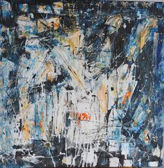 "Saatchi Online Artist: Krzysztof Ryfa; Acrylic 2012 Painting ""Night Visions"""