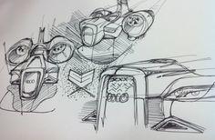 Doodle by Hoang M Nguyen , via Behance