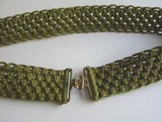 Want to learn how to macrame? Then you came to the right place!!  Macrame belt