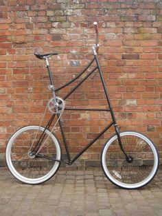 Tall bike.