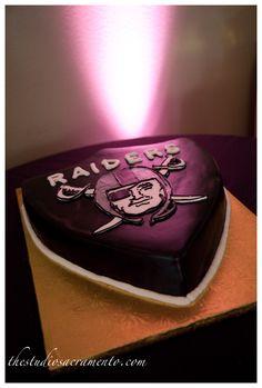 Raiders Groom's Cake