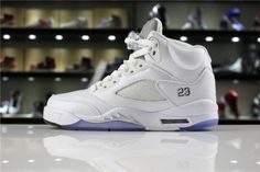 7bfda503931c Official Air Jordan 5 Retro Metallic Silver 136027-130 Mens and WMNS Shoes  For Sale