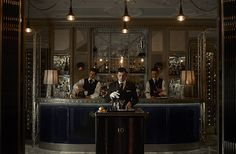 Now that's a bar cart! Martini Trolley at the Connaught Bar - London. London Hotels, Hakuna Matata, Manhattan, Connaught Hotel, Best Cocktail Bars, Cocktail List, Savoy Hotel, Whisky Bar, Most Luxurious Hotels