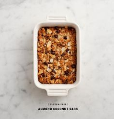Gluten Free Almond Coconut Bars / Love and Lemons
