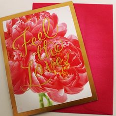 Feel the ❤ #valentinesday #greetingcards #valentinescard