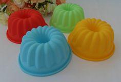 5PCS Pumpkin Muffin Sweet Candy Jelly Silicone Mould Mold Baking Pan Tray Mak B949 Free Shipping $4.00
