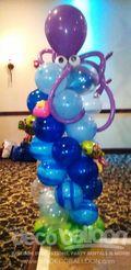 34. Under the Sea Balloon Column