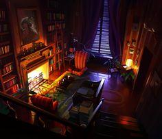 ArtStation - interior_01, Michal Sawtyruk