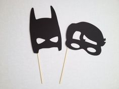 Batman and Robin Photo Booth Props - Superhero Photo Booth - Comic Book Photo Booth on Etsy, $5.00