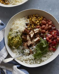 DIY Chipotle Burrito Bowl from www.whatsgabycooking.com (@whatsgabycookin) - What's Gaby Cooking