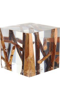 Bleu Nature      Kisimi Driftwood Cube