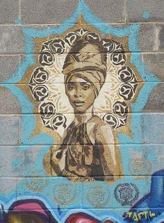 Street Art on South Congress in Austin
