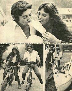 Serge Gainsbourg, Gainsbourg Birkin, Romantic Photos, Love Photos, Jane Birken, Jane Birkin Style, Bae, My Kind Of Love, Provocateur
