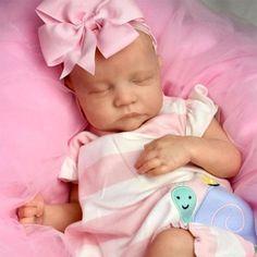 22'' Adorable Meryl Reborn Baby Dolls, Cloth Body Reborn Dolls, Reborn Babies, Realistic Baby Dolls, Newborn Baby Dolls, Baby Powder, Baby Coming, Baby Bottles, Doll Toys, Kids Playing