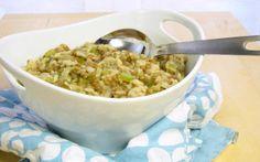 Sorprende a tu pareja a tus seres queridos con este fabuloso Risotto de Lentejas!! Les en encantará... Pressure Cooker Lentil Risotto - one pot meal!