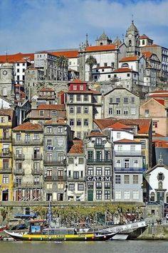 Porto - Portugal Travel to Porto in Portugal to enjoy the architecture and… Porto Portugal, Portugal Travel, Spain And Portugal, Places Around The World, Travel Around The World, Around The Worlds, Places To Travel, Places To See, Wonderful Places