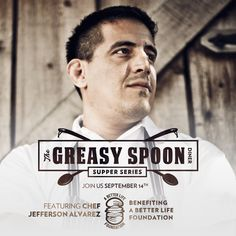 HEADS UP | Chef Jefferson Alvarez Set To Prep 'Greasy Spoon' Dinner At Save On Meats