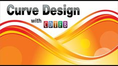 Curve design background in coreldraw ******************************************************** Create & copy a beautiful curve design background in coreld. Corel Draw Tutorial, Lightroom, Photoshop, Corel Painter, Curve Design, Beautiful Curves, Coreldraw, Graphic Design, Learning