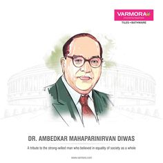 A tribute to the strong-willed man who believed in equality of society as a whole Dr. B R Ambedkar, National Days, Equality, Faucet, Tiles, Believe, Strong, Happy, Movie Posters