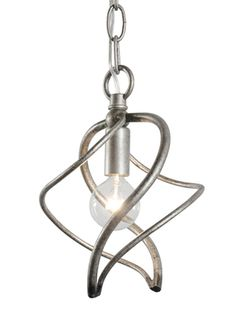 Silver Age One Light Galaxia Mini Pendant; needs a cooler bulb...$100