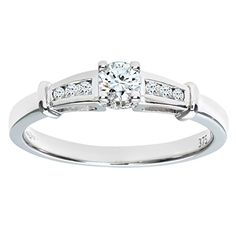 Naava Women's 9 ct White Gold Round Brilliant Cut 0.25 ct Diamond Fancy Eternity Ring wGiQnYc1O