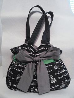 Seattle Seahawks Bag by GenerationGapBags on Etsy Seahawks Gear, Seahawks Fans, Seahawks Football, Seattle Seahawks, Football Team, Seahawks Super Bowl, 12th Man, Purses And Bags, Prom Shoes