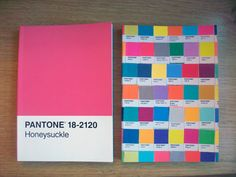 I saw this Pantone Chip journal at Barnes & Nobles... the only reason I didn't get it (because let me tell you not only is the cover enticing, but the inside pages! the most amazing graph paper ever...) was because it's perfect bound instead of stitched. I don't imagine it would hold up very well for a journal