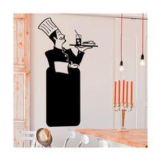 Decora tu bar o restaurante con una útil pizarra de vinilo original / Decorate your restaurant with an original and useful blackboard vinyl